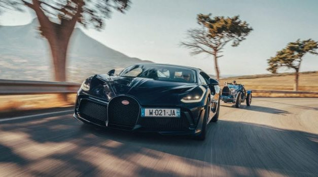 Bugatti Divo and Type 35 Take on the Historic Targa Florio