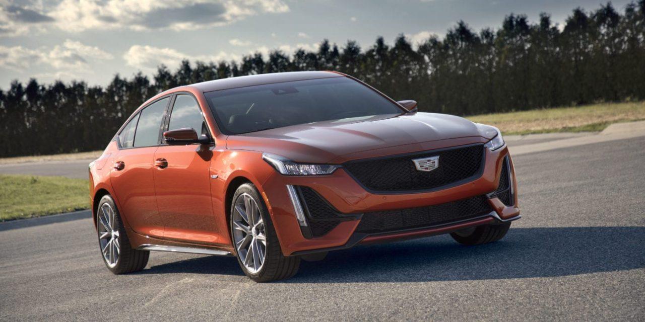 Cadillac CT5-V V8 Surprises Everyone At Cars & Coffee