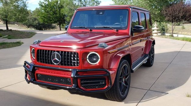 Rare designo Cardinal Red Metallic 2020 Mercedes-AMG G63 for Sale