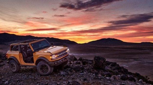 2021 Ford Bronco Sasquatch Gains 7-Speed Stick