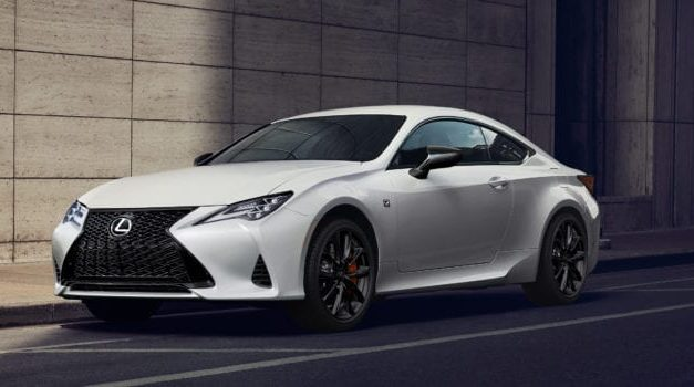 2021 Lexus RC Black Line Is the Perfect Blend of Performance and Luxury
