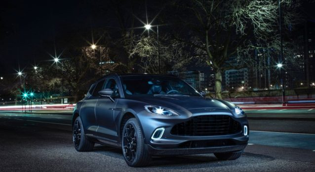 Aston Martin Announces Attractive Pricing for 2021 DBX and Vantage