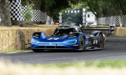 Volkswagen ID.R Encore Performance at Goodwood