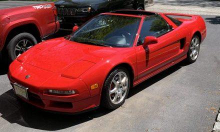 One-Owner 1995 Acura NSX-T Targa For Sale