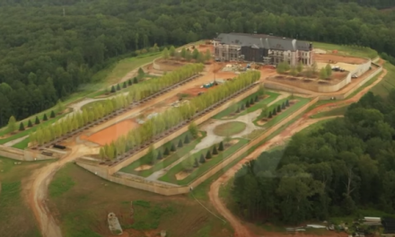 Tyler Perry Installing Private Airplane Runway at Massive New-Build Mansion