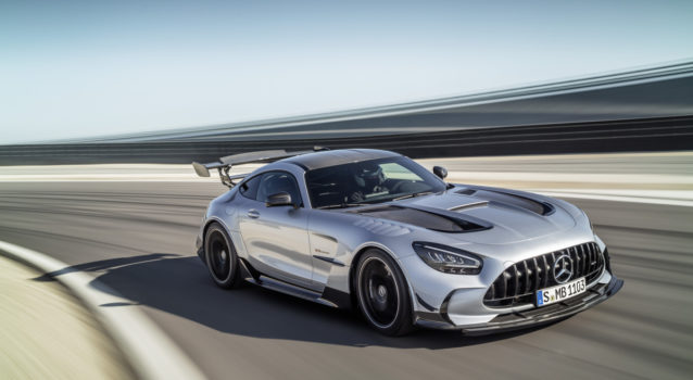 Watch the 2021 Mercedes-AMG GT Black Series in Action