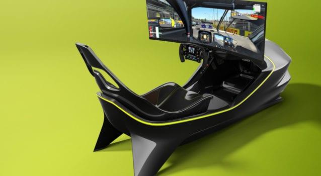 Aston Martin Has Just Unveiled an Epic Racing Simulator