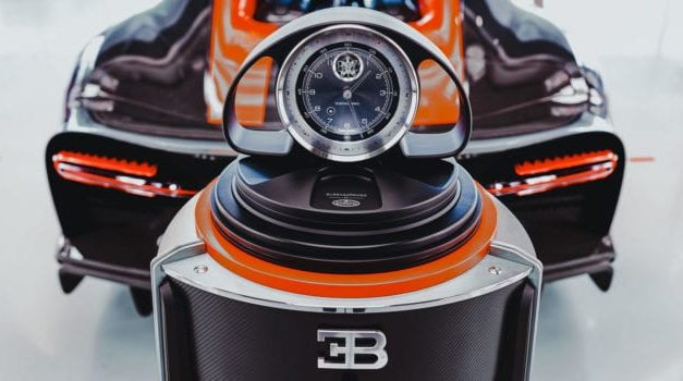 Bugatti and Buben&Zorweg Watch Safes Honor the Chiron Hypercar