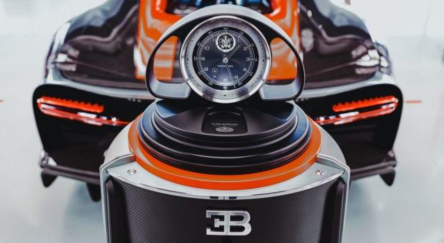 Bugatti and Buben&Zorweg Watch Safes Honor the Chiron Hypercar