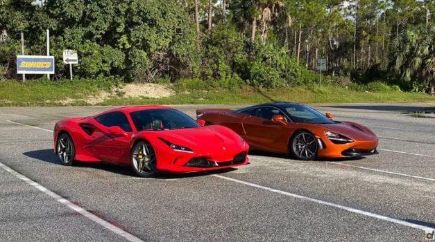 Ferrari F8 Tributo vs McLaren 720S Drag Race: Who Wins?