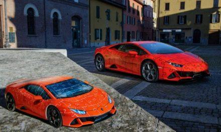 Build This Lamborghini Huracan EVO 3D Jigsaw Puzzle
