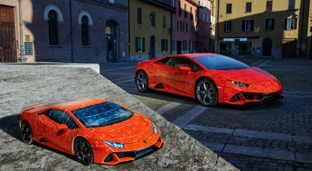 Build This Lamborghini Huracan EVO 3D Jigsaw Puzzle