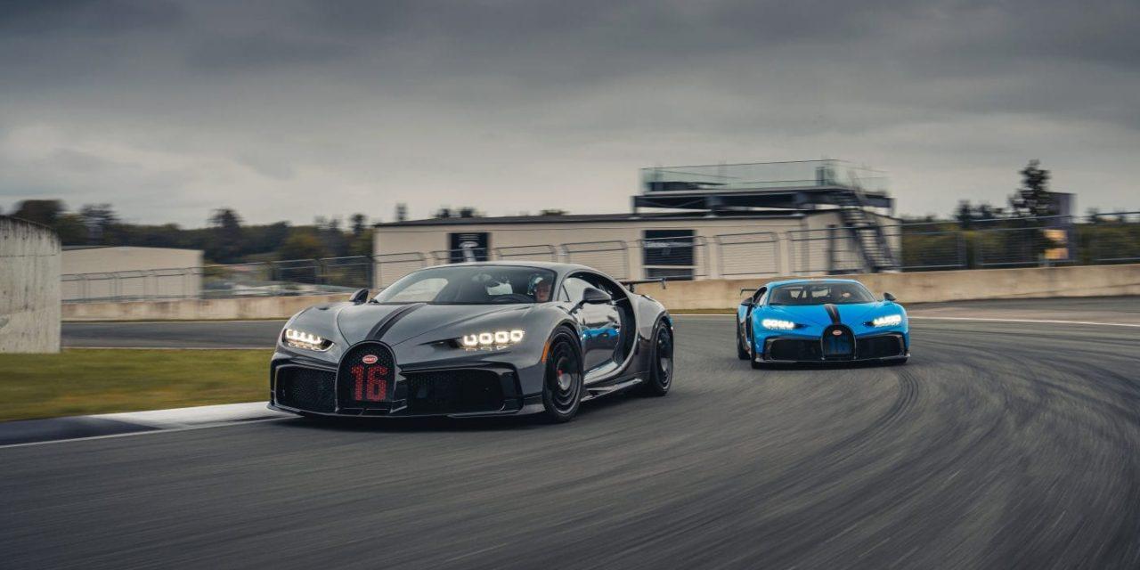 2021 Bugatti Chiron Pur Sport Customer Test Drives