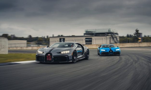 2021 Bugatti Chiron Pur Sport Customer Test Drives