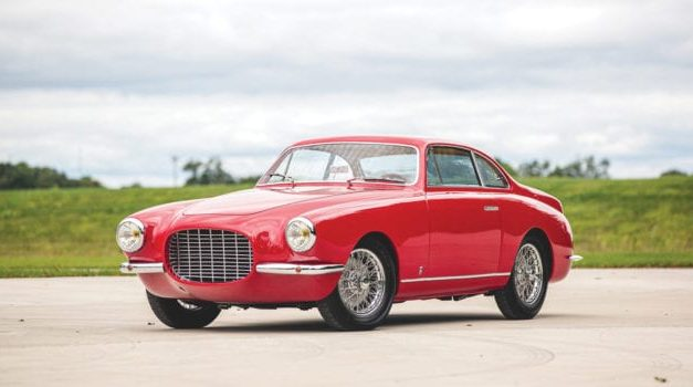 Fiat 1950's Supercar, the Fiat 8V Coupe, At RM Sotheby's Elkhart Collection Auction