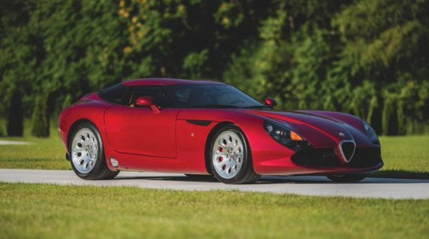 1 of 9: Alfa Romeo TZ3 Stradale Zagato in RM Sotheby's Upcoming Elkhart Collection