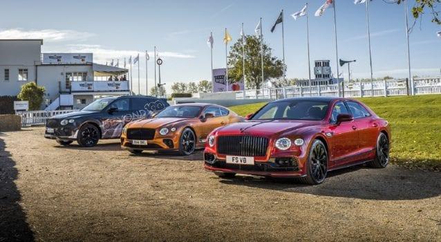 Bentley Shows Stunning Lineup At Goodwood