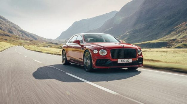 2021 Bentley Flying Spur V8 Is Lighter & Darker