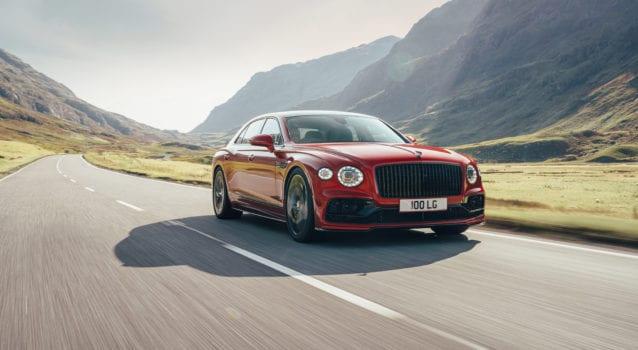 2021 Bentley Flying Spur V8 Is Lighter & Darker