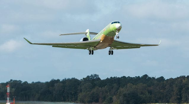 Fifth Gulfstream G700 Test Aircraft Takes To the Skies