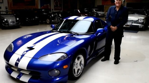 Jay Leno Drives His 1996 Dodge Viper GTS