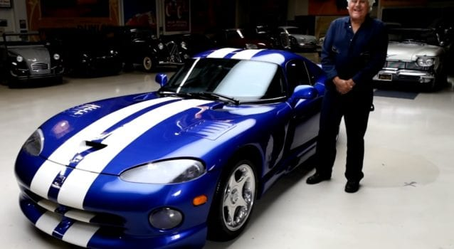 Jay Leno Drives His 1996 Dodge Viper GTS