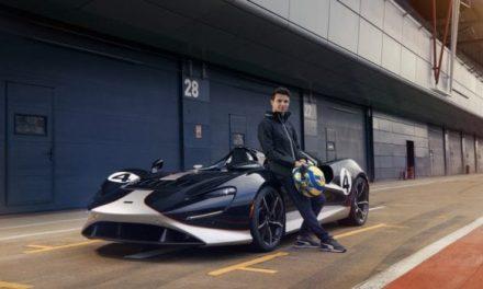 See Lando Norris Test Drive the McLaren Elva