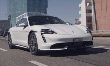 Porsche Taycan Turbo Attacks The Alps