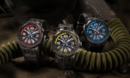 Perrelet Takes The New Turbine Pilot Watch Collection To The Sky
