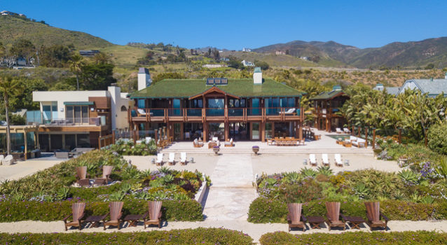 Pierce Brosnan's Malibu Mansion is Listed for $100 Million