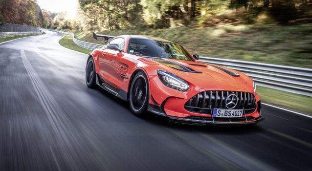 2021 Mercedes-AMG GT Black Series Sets New Nürburgring Record