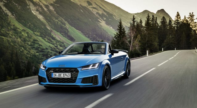 2021 Audi TTS Competition Plus Arrives With Power & Personality
