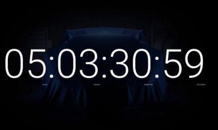 Lamborghini Countdown Clock Hides Something Wild
