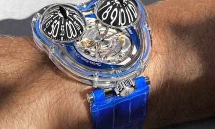 MB&F Reveals Their New HM3 Frog X Watch