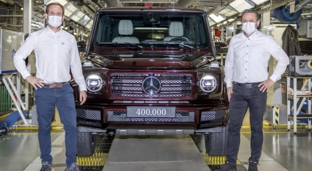 Mercedes-Benz G-Class Celebrates 400,000 Wagens & Counting