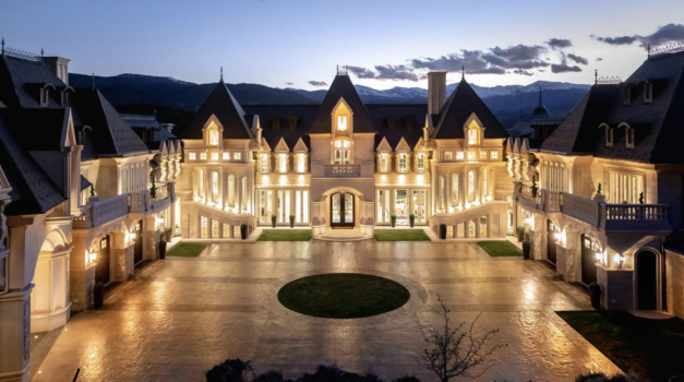 Home of the Day: $12.5 Million Mountain Castle Called Chateau V