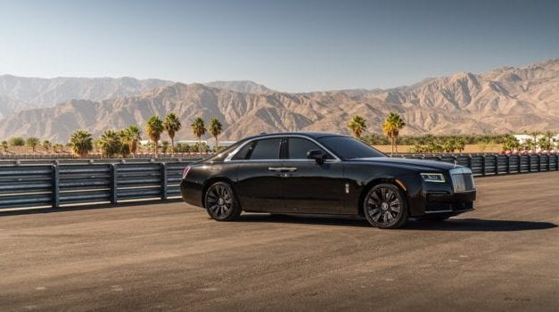 See the First 2021 Rolls-Royce Ghost Delivered in North America