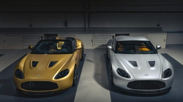 Aston Martin V12 Zagato Heritage Twins Revealed