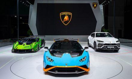 Lamborghini at the 2021 Shanghai Auto Show – Pictures & Gallery