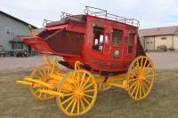 WESTERN PIONEER: Benny Binion's Family Stagecoach Replica