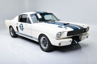 DUAL LEGACY: Carroll Shelby and Sir Stirling Moss both had a hand in this 1966 GT350's storied past