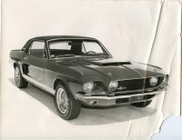 """Barrett-Jackson Inaugural Houston Auction to Display """"Lost"""" 1967 Shelby GT500 """"Little Red"""" and Prototype Shelby GT500 Convertible Together for First Time in History"""
