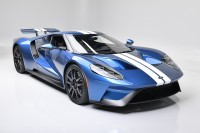 WIND-SHAPED RACER: Liquid Blue 2019 Ford GT Headed to Houston with No Reserve